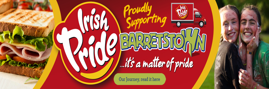 The Road to Barretstown, A Journey of Pride, Irish Pride