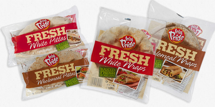 New range of Fresh Pittas and Wraps