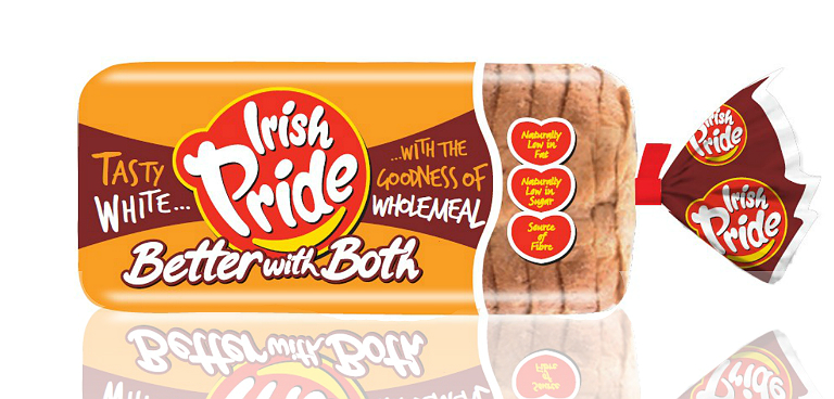 Irish Pride Better with Both White and Wholemeal 800g