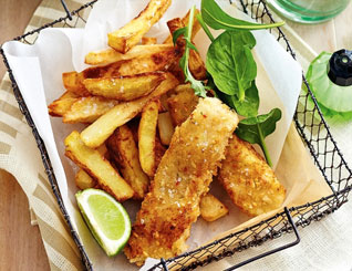 Homemade Fish Fingers & Wedges