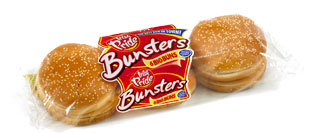 Irish Pride Bunsters Seeded Big Buns 6pk