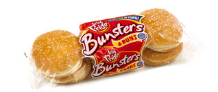 Irish Pride Bunsters Seeded Buns 6pk