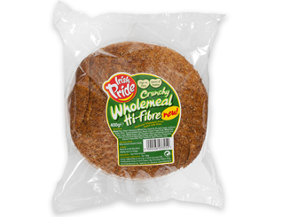 Irish Pride Crunchy Wholemeal Bread 400g