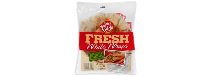 Irish Pride Fresh White Wraps 5pk