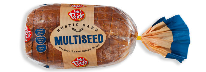 Irish Pride Rustic Bake Multiseed 400g
