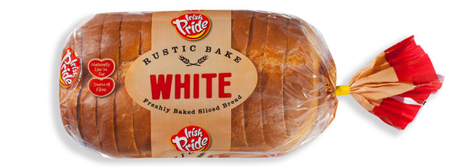 Irish Pride Rustic Bake White 400g
