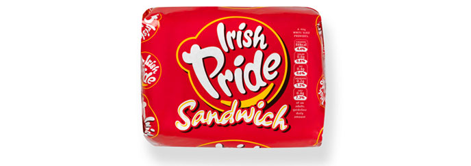 Irish Pride Sandwich Half Pan 400g