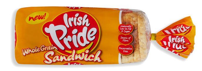 Irish Pride Wholegrain Sandwich 800g