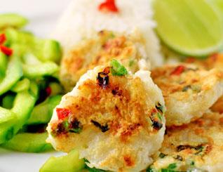 Mediterranean Fish Cakes